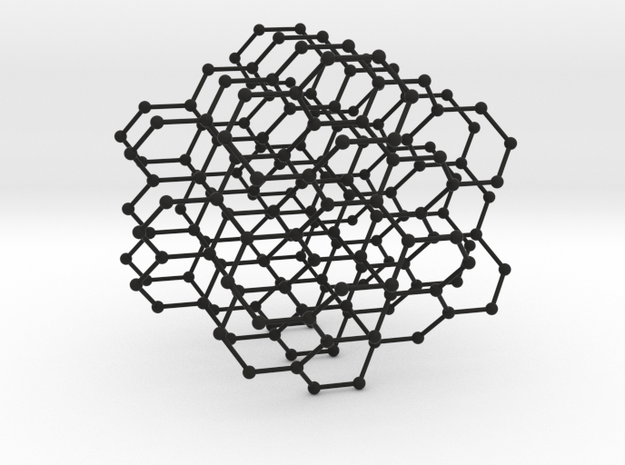 hyperhoneycomb lattice 3d printed