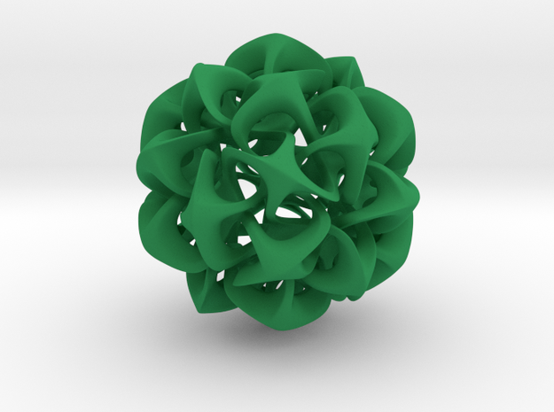 Rhombic Triacontahedron II, large 3d printed