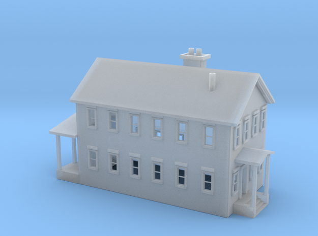 House 2 Story 3d printed