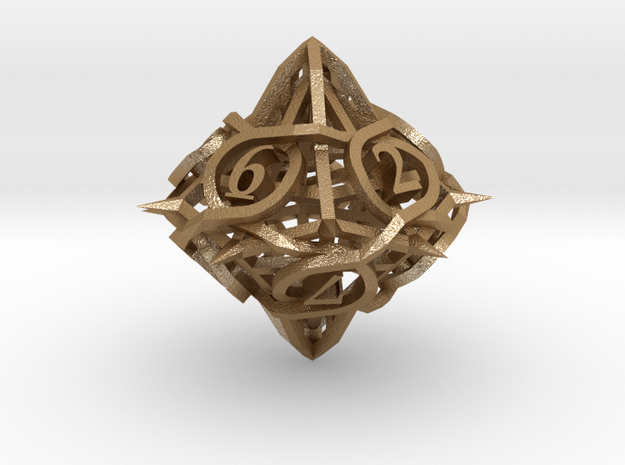 Thorn Die10 Ornament 3d printed