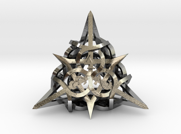 Thorn Die4 Ornament 3d printed