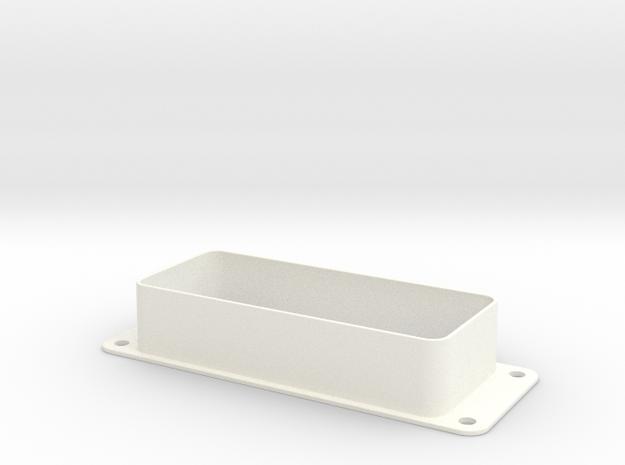 Bally SS Pinball - 2 Globe Light Shroud (Upgraded) in White Processed Versatile Plastic