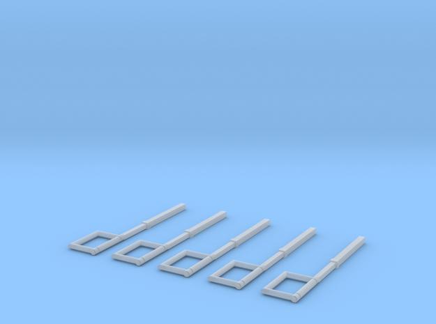 Schlauchführung für das HFS-System  in Smooth Fine Detail Plastic