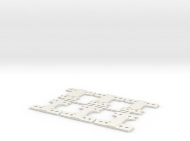 LM-MM 60 THK in White Natural Versatile Plastic