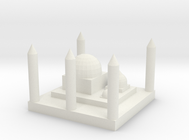 Mosque 3d printed