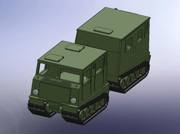 Hägglunds Husky BV206D 1:144 in Smooth Fine Detail Plastic