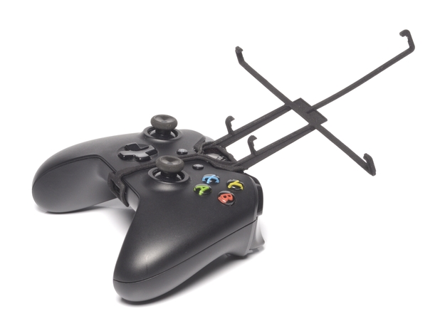 Xbox One controller & Spice Mi-725 Stellar Slatepa 3d printed Without phone - A Nexus 7 and a black Xbox One controller