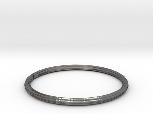 Sizzling Rottis bracelet in Polished Nickel Steel