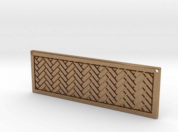 Rectangle Pendant 3d printed