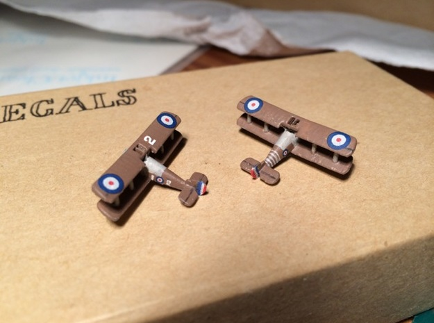 1/350 Sopwith Snipe in Smooth Fine Detail Plastic