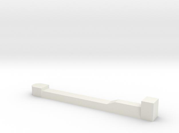 Huszar Superstructure in White Natural Versatile Plastic