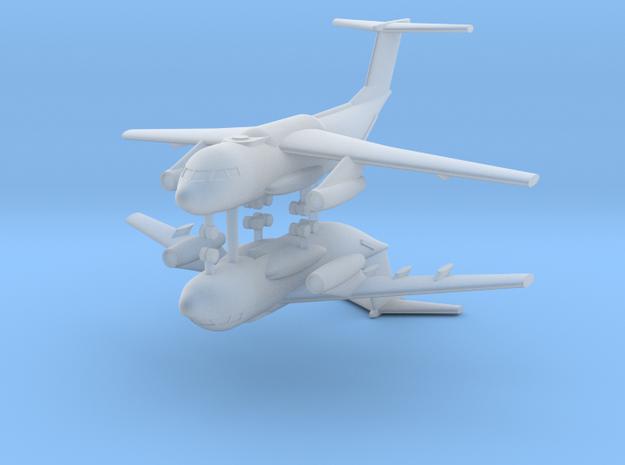 1/700 Kawasaki C-1 (x2) in Smooth Fine Detail Plastic