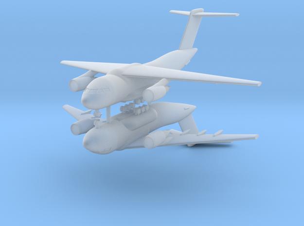 1/700 Kawasaki XC-2 (x2) in Smooth Fine Detail Plastic