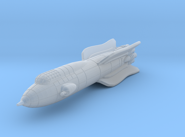 Terran Battle Rocket Achates 3d printed