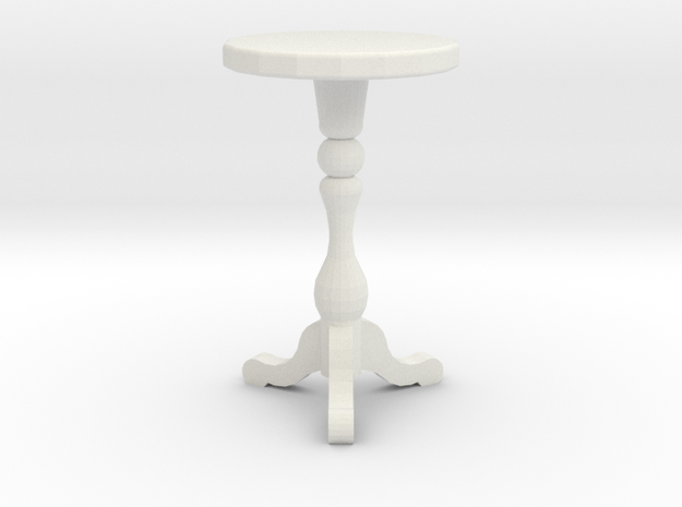 "1:48 18"" Round Table 3d printed"