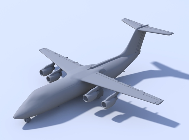 1:200 - BAE 146-300 (XL) in Frosted Ultra Detail