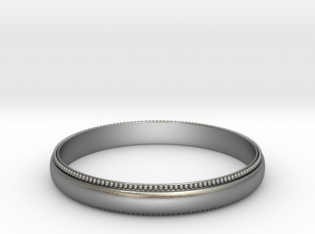 Emperial Ring in Raw Silver