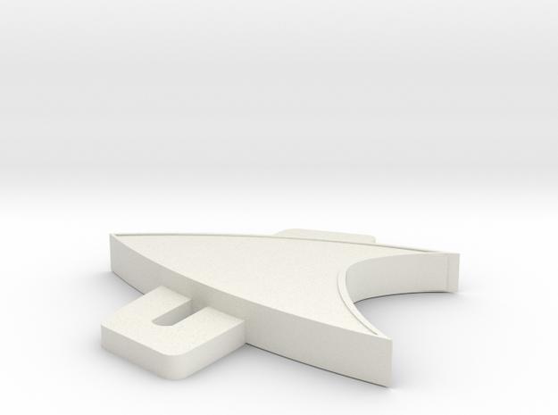 9pr9lv279b6kacr8ndr5qkefq3 46589929.stl in White Natural Versatile Plastic