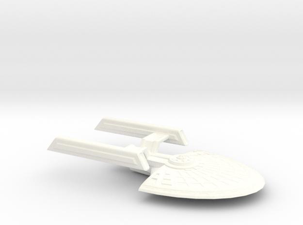 USS Polaris in White Processed Versatile Plastic