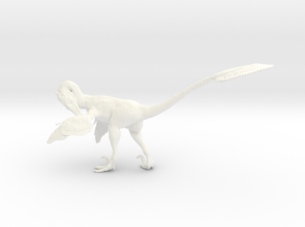 1:12 Scale Velociraptor  (Preening)