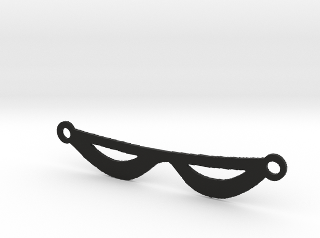The Phantom's Eye Mask in Black Strong & Flexible