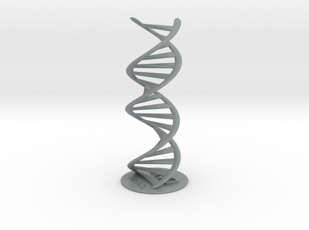 DNA double helix with stand (schematic)