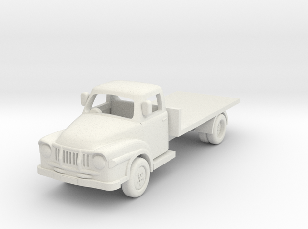 1:87 J2 Bedford in White Natural Versatile Plastic