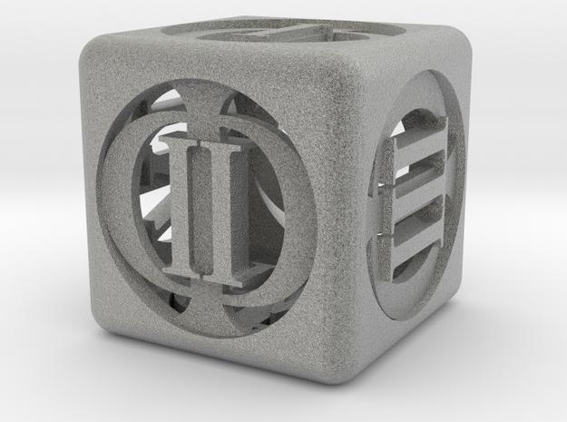 D-Phi 3d printed A HD render of the die.