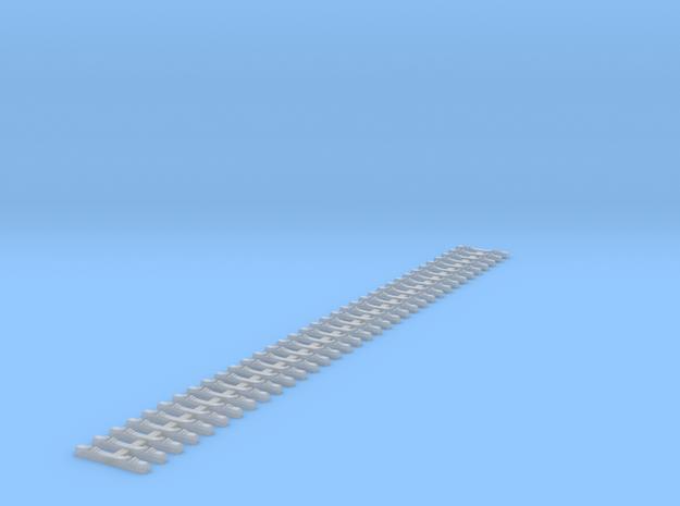 1 Pce 23cm H0m Betonschwelle VöV-E M2 M4 Band Mit  in Smooth Fine Detail Plastic