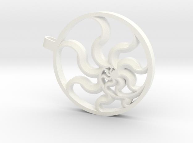 Fibonacci Sun 3d printed