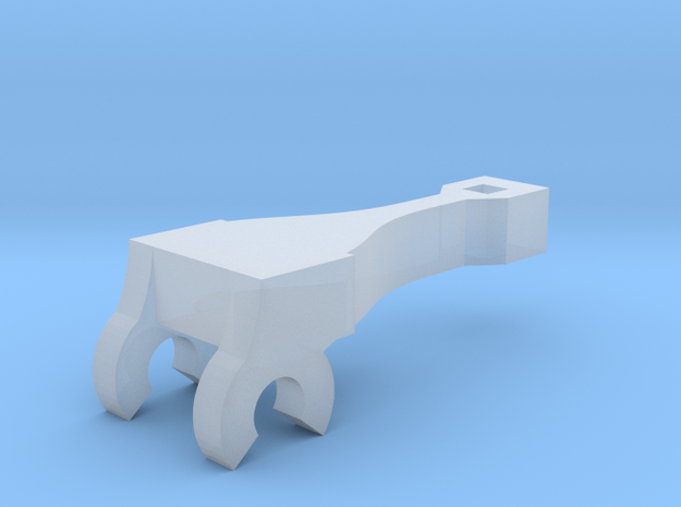"""Gelert"" pony truck replacement 1.5mm in Smooth Fine Detail Plastic"