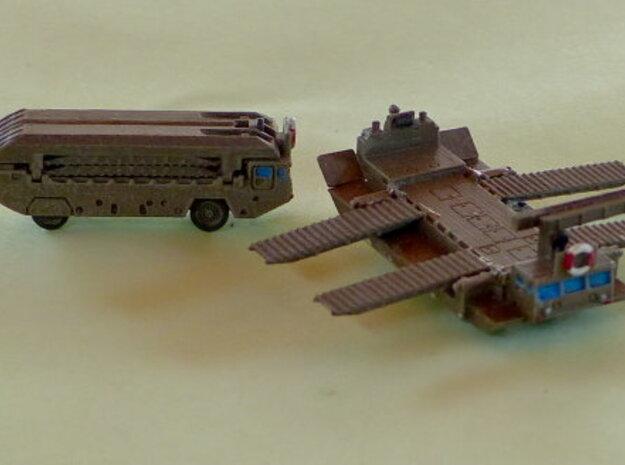M2 Alligator Amphibious Bridging Vehicle 1/285 6mm in Smooth Fine Detail Plastic