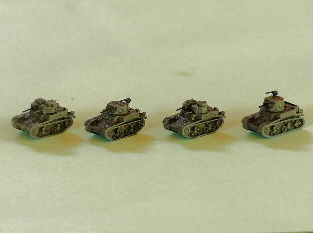M1 & M2 Combat Cars / Light Tank 1/285 6mm