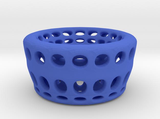 Eggcup  hole in Blue Processed Versatile Plastic