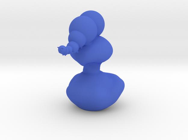 The Catterpiller larger in Blue Processed Versatile Plastic
