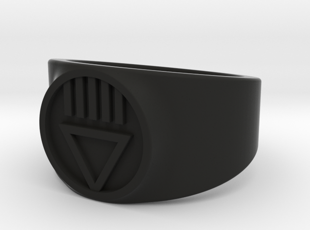 Black Death GL Ver 2 Ring Sz 13 3d printed