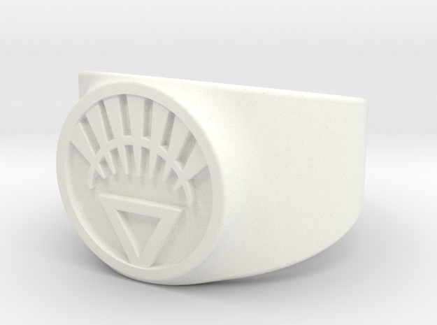 White Life Ver 2 GL Ring Sz 11 3d printed