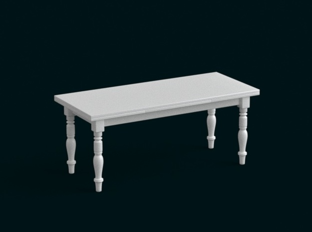 1:39 Scale Model - Table 12 3d printed