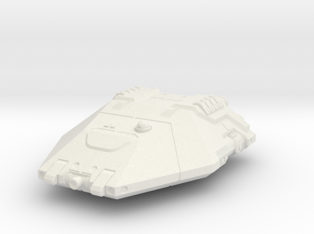 Planet Hopper - Flight Mode in White Strong & Flexible
