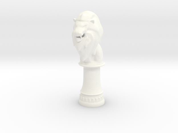 Lion Bishop (Round Base)