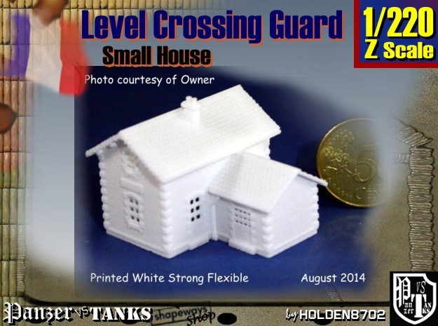 1-220 Crossing Guard Small House