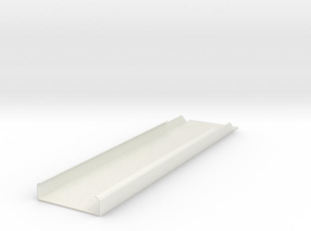 2550 Roof Panel in White Natural Versatile Plastic