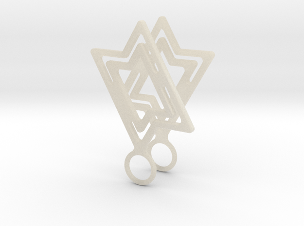 Star of David 3d printed