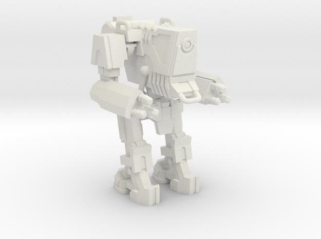 1/87 Scale Wofenstain Trooper Robot in White Strong & Flexible