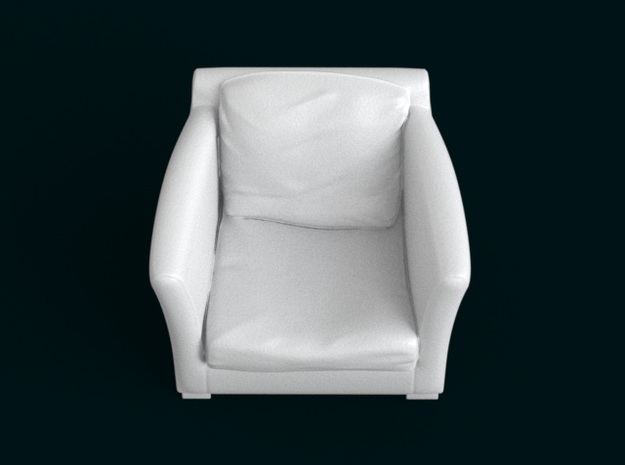 1:39 Scale Model - ArmChair 04 3d printed