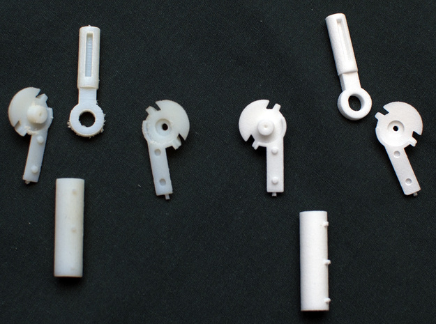 MDD Shoulder Joint Replacement in Smooth Fine Detail Plastic
