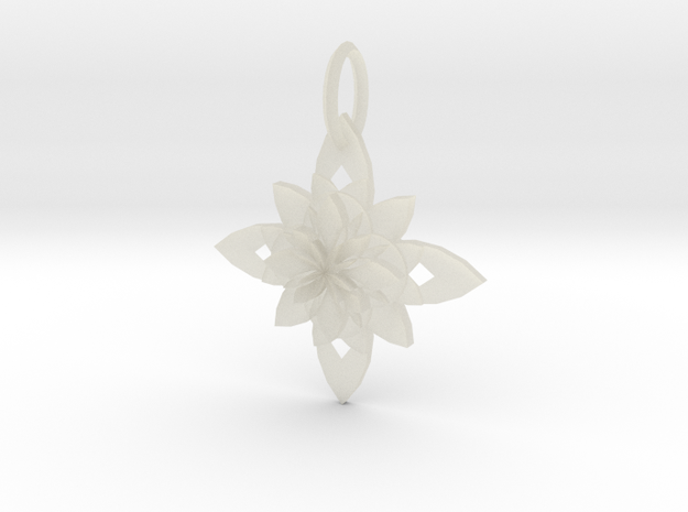 Sacret Flower geometry in Transparent Acrylic