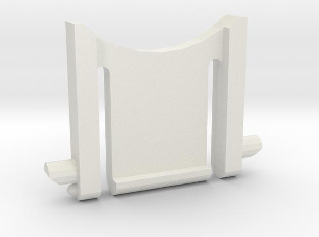 Razer Lycosa keyboard leg in White Strong & Flexible