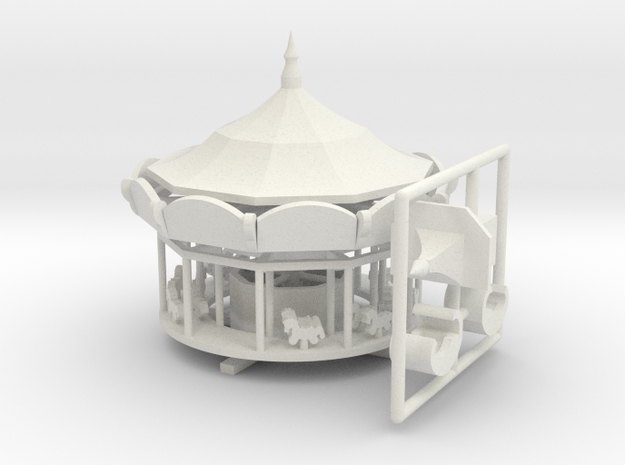 Bodenmühle - 1:160 (n scale) in White Natural Versatile Plastic