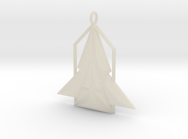 Rocket House Pendant 3d printed